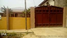 A room and palour self contains for rent at Akeja-ota, Ogun State