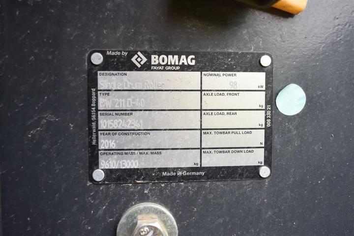 BOMAG BW 211 D-40 - 2018 - image 20