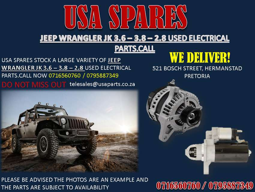 Used Jeep Wrangler Parts >> Jeep Wrangler Jk Used Replacement Electrical Parts Car Parts