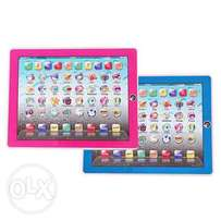 Set of 2 Kids Educational Learning Ypad For Kids - Blue & Pink