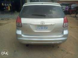 Registered Toyota matrix for sale