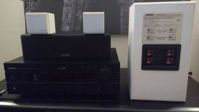 Yamaha A/V Receiver with Bose Speakers - Home Theater Nyali - image 1