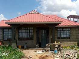 2 bedroom house in plot size 40x120 unfinished selling at 2.8million