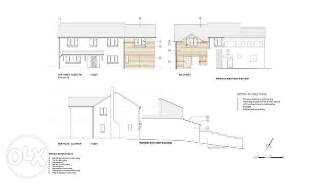 we produce drawings for your planning permission application