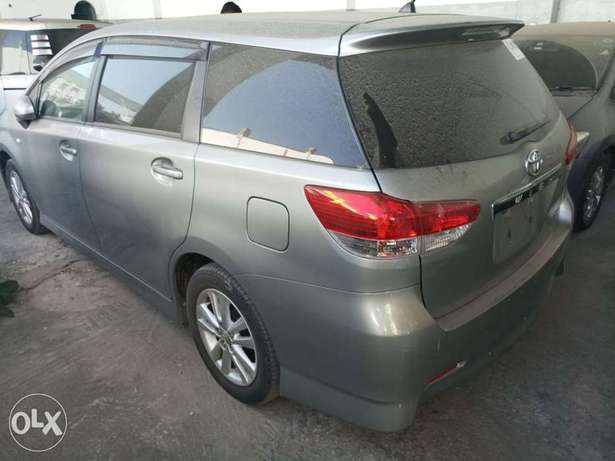 Choices of Black n Silver Toyota Wish 2010 KCP number Mombasa Island - image 7