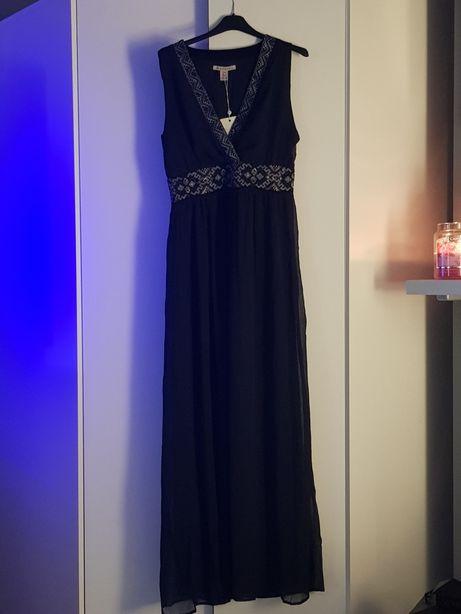 a970002bf9 Dluga granatowa sukienka Anna Field nowa z metkami rozmiar S Leszno - image  1
