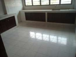 A 3 bed room spacious unfurnished apartment for rent in nyali.