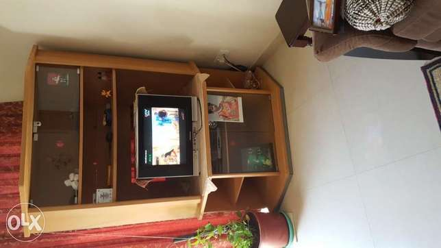 """42""""TV trolley very good condition(Urgent Sale)"""