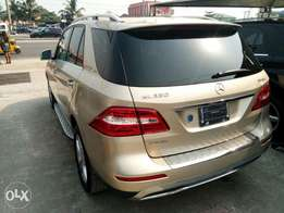 2012 Mercedes benz ML350-Foreign used ( toks)