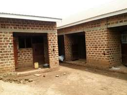 Rentals five units still shell for sale in gayaza town at 45m