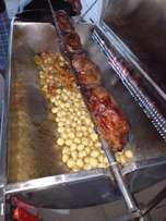 Full catering and spit braai's