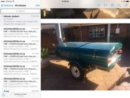 7 ft Venter trailer for sale, no rust,