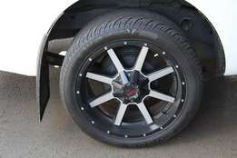 "20"" TUFF AT Bakkie Rims + Tyres. (on Ford Ranger)"