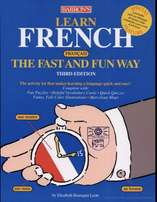 Learn French the Fast and Fun Way (3rd Ed) Book and Audio book