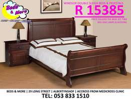 Windsor Double Sleigh Bed