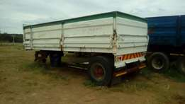 12ton High speed drawbar trailer for sale