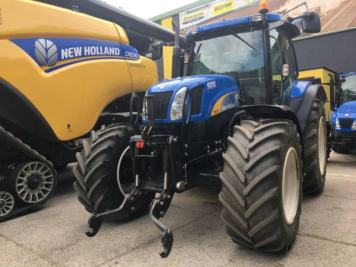 New Holland TS 135 Active Electro Command - 2006