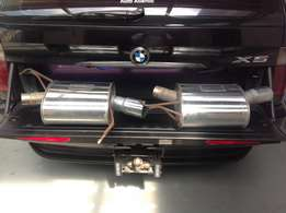 BMW X5 exhaust