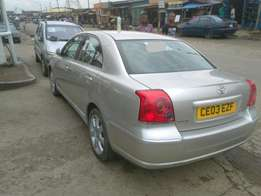 Toyota Avensis 03 Toks right hand drive
