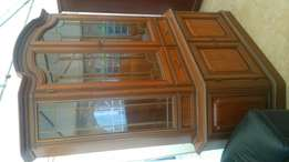 Soft mahogany state of the art cardboard with glass at 130,000ksh