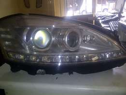 Mercedes Benz W221 headlamps available for sale