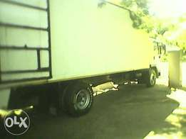 Empty 8 ton truck from Capetown to Durban