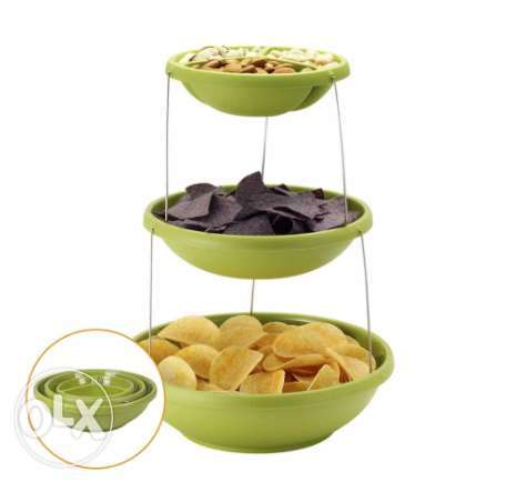 3 Tiers Twisted Party Bowls