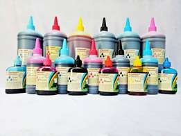 Bulk Printer Ink Refills for Epson, Canon & Hp - All Colors Available