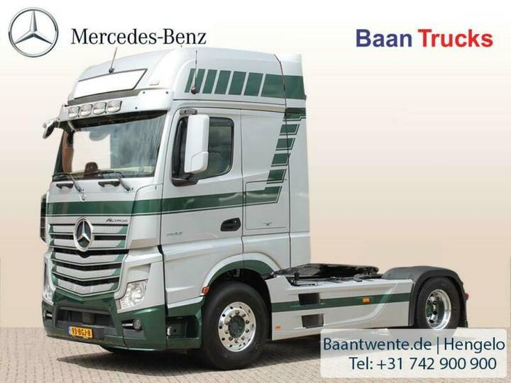 Mercedes-Benz ACTROS 1848 LS 4X2 Gigaspace, Vol option - 2015