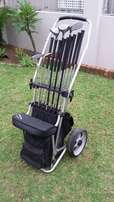 Golf clubs with extras