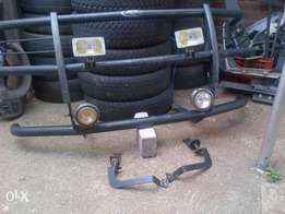 Ford Ranger Bull Bar with Brackets and 2 Sets Spotlights