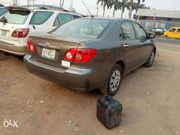Clean used Toyota corolla for sale
