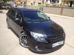 Toyota Fielder Black with Alloy Rims 2009 Model KCJ...