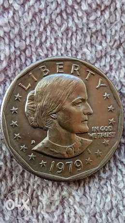 USA 1 Dollar Susan B. Anthony year 1979 with flying Eagle Very Special