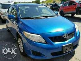 Clean direct tokumbo toyota corolla for sell.