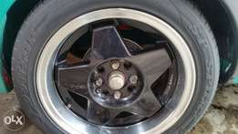 15 inch borberts multi pcd with tyres swop why