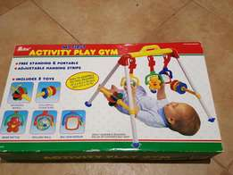 Baby activity play gym
