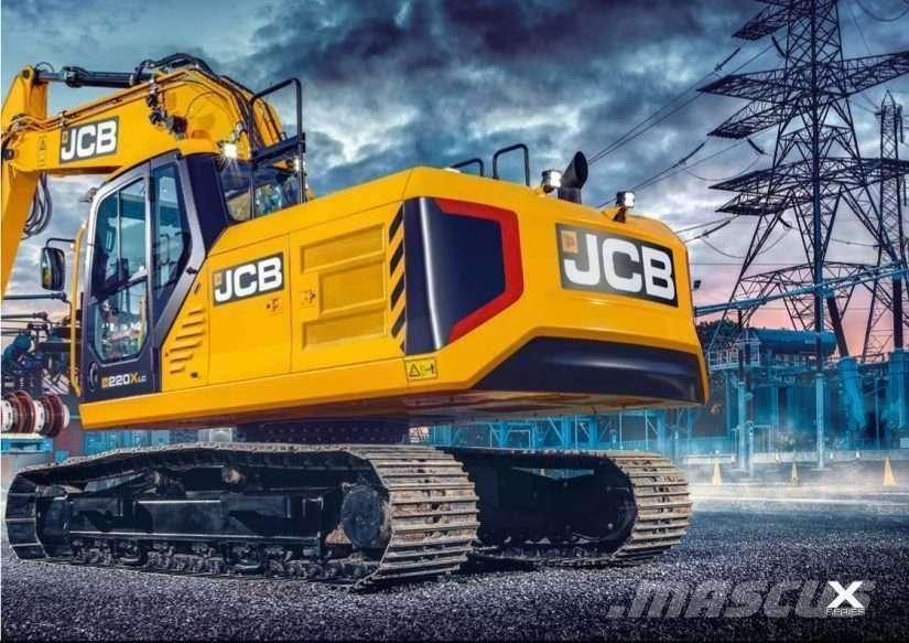 JCB 220x Leveransklar - 2019