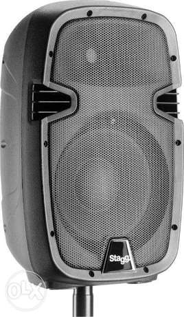 """Stagg PMS 10"""" 2-way active speaker analog"""