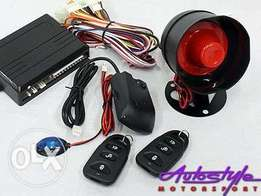 GSM Car Security System Installation