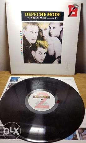depeche mode the singles 81-85 vinyl lp