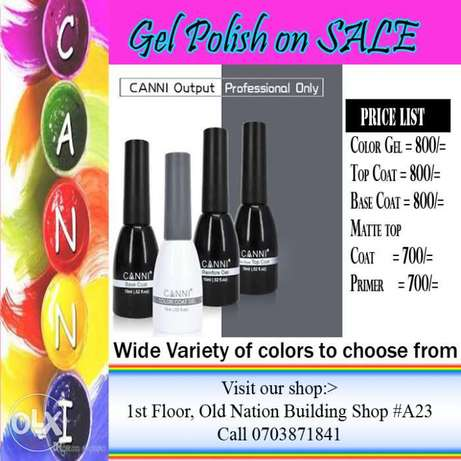 CANNI gel polish Nairobi CBD - image 1