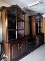Mahogany 2by9.5 ft ,7ft height wall unit
