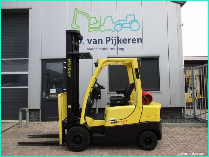 Hyster H2.5CT 2.5t LPG 4.5m HH + sideshift 2014! - 2014