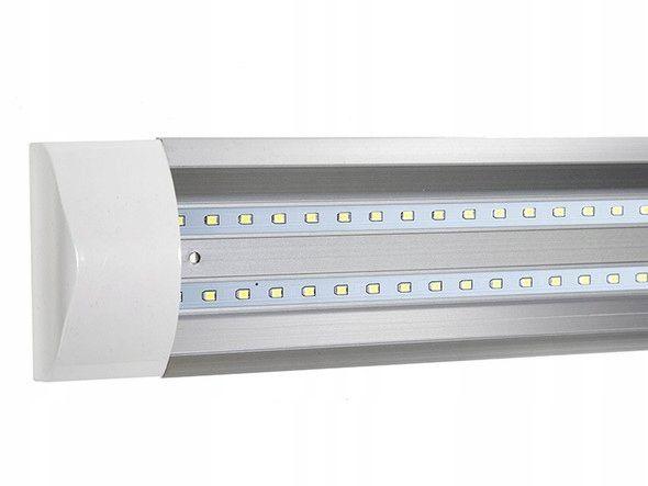 Lampa Led 120 Cm Do Garażu Panel świetlówka 72w Rzeszów