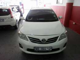 2010 Toyota Corolla Professional 1.3, Color White, Price R100,000.