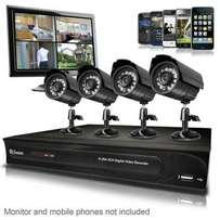 cctv cameras, gate & garage motors, electric fence, intercoms