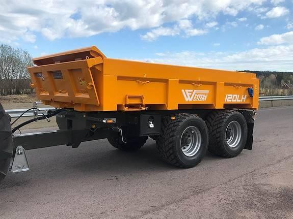 Western 12dlh Hardox Dumperhenger - 2019
