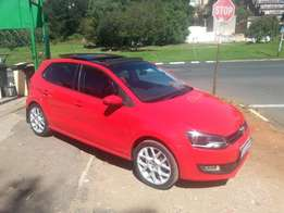 Excellent condition 2013 Red VW Polo 6 1.6 Full house with a sunroof