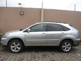 Lexus Rx 2005 Model Silver Color